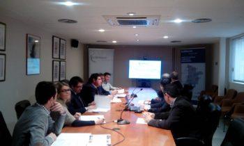 Representants de la Diputació de Cáceres, Badajoz i del CEEI Extremadura visiten LLeida