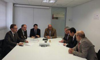 Visita institucional del delegat del Govern de la Generalitat de Catalunya a GLOBALLEIDA