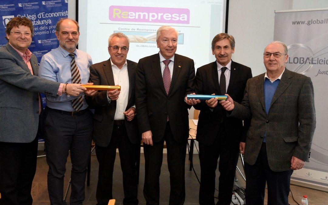 GLOBALLEIDA renova el seu compromís amb la Reempresa per garantir la continuïtat de les empreses de la demarcació de Lleida