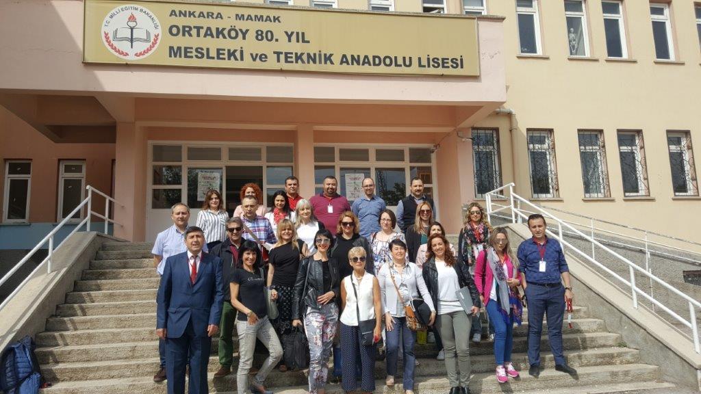 Turquia seu de la 3ª reunió del projecte europeu EROVET