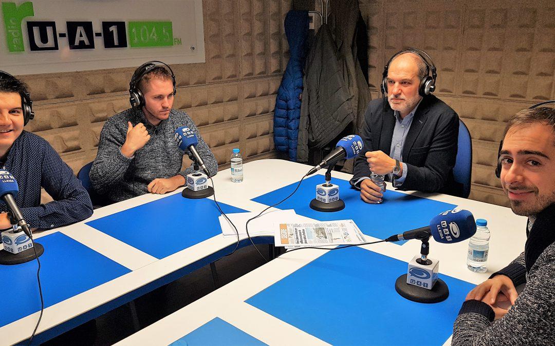 Avui a l'espai de GLOBALLEIDA a UA1 Ràdio hem parlat de la Jornada CONNECTA