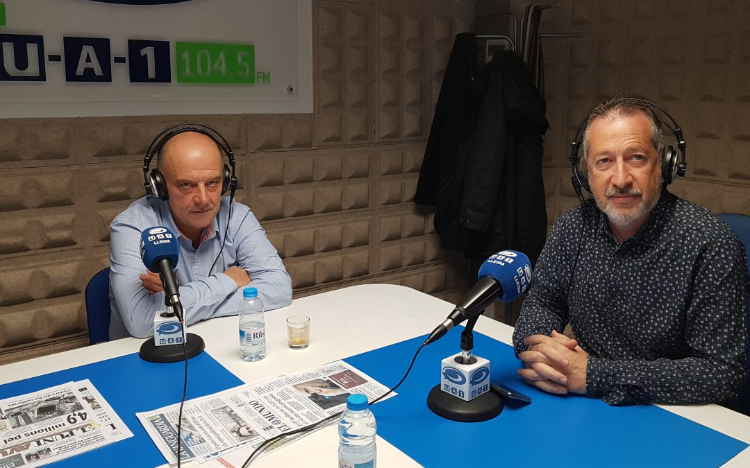 Avui al espai de GLOBALLEIDA a UA1 Ràdio hem parlat del Cei Almenar i de la Val d'Aran