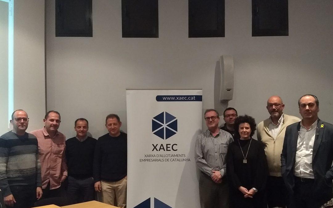 Presentació de la Xarxa d'Allotjaments Empresarials de Catalunya (XAEC) als membres de la Xarxa de CEIs que dinamitza GLOBALLEIDA