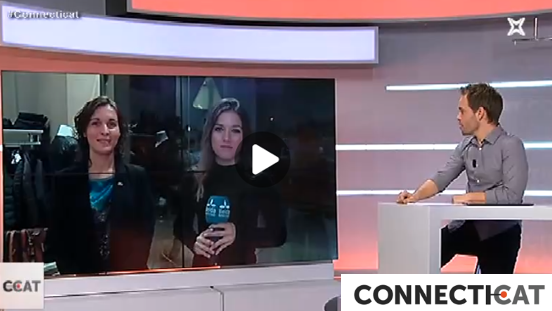 OKI, un comerç del barri de la Bordeta de Lleida protagonista al programa de TV CONNECT.CAT