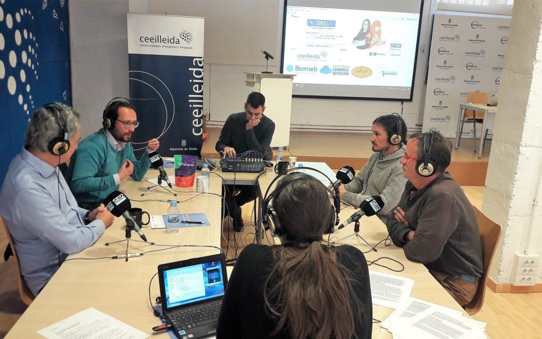 """Oportunitats de negoci vinculades al sector de la biotecnologia al Programa """"Empresaris"""" de Ràdio Lleida"""