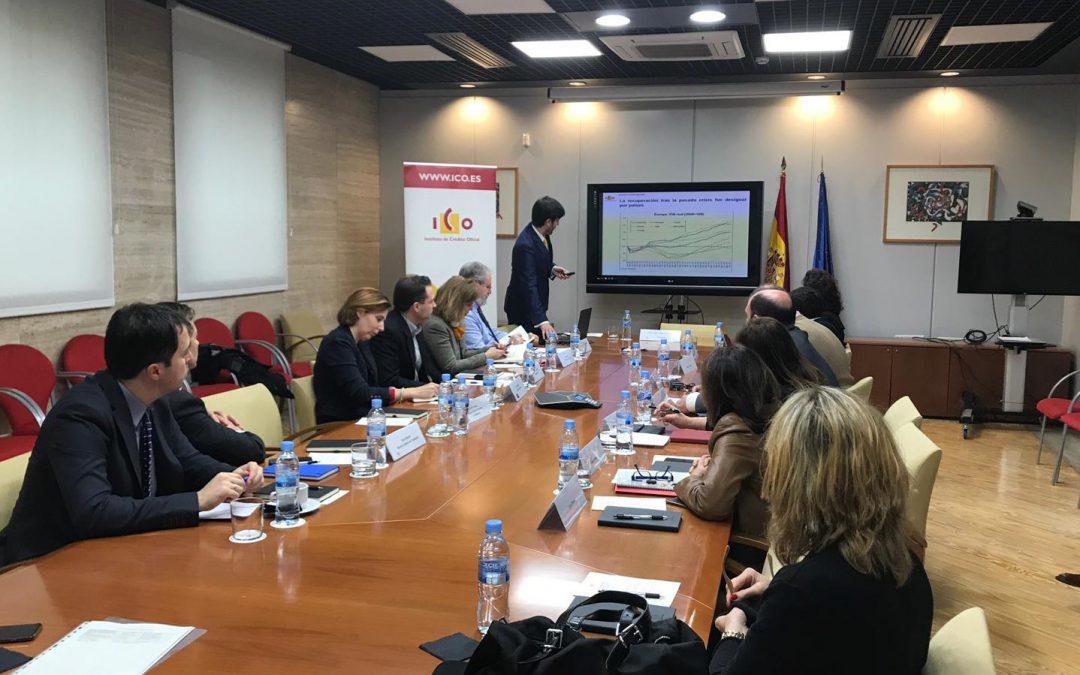 """GLOBALLEIDA participa a la """"Jornada Agents Col·laboradors 2019"""" organitzada per l'Institut de crèdit Oficial ICO a Madrid"""