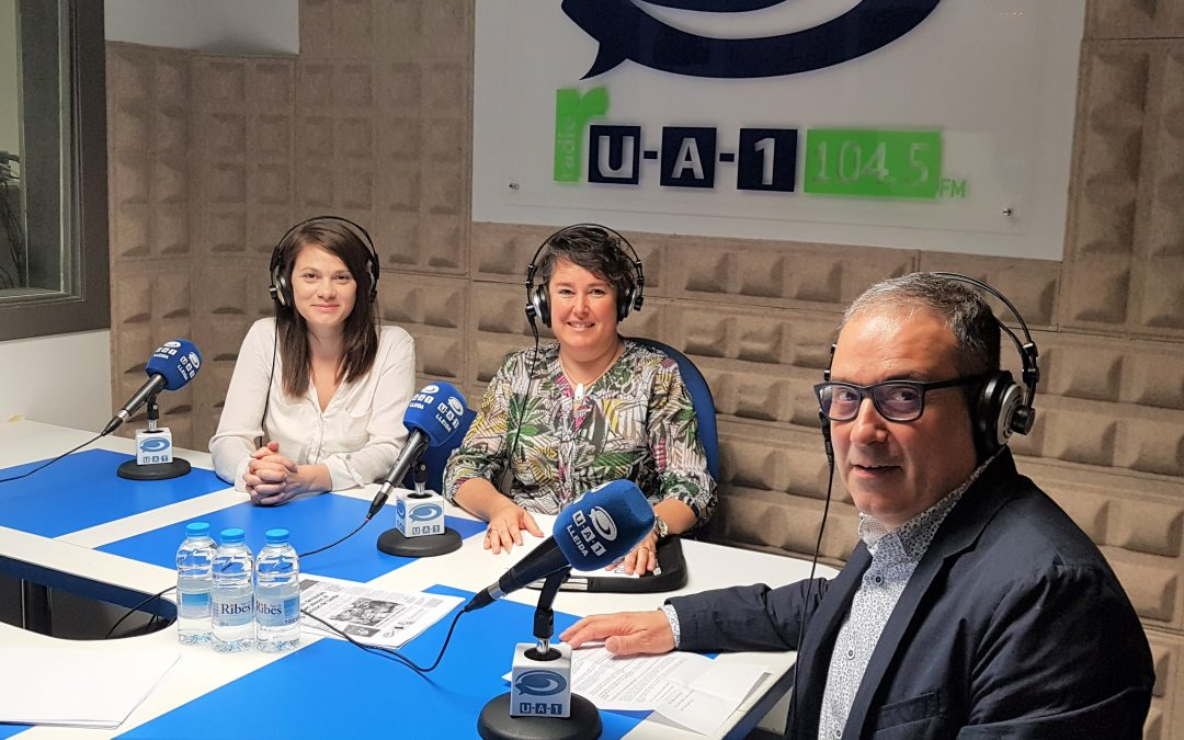 Avui a UA1 Ràdio, hem parlat del projecte d'apoderament personal i professional dirigit a dones: GIRA Mujeres