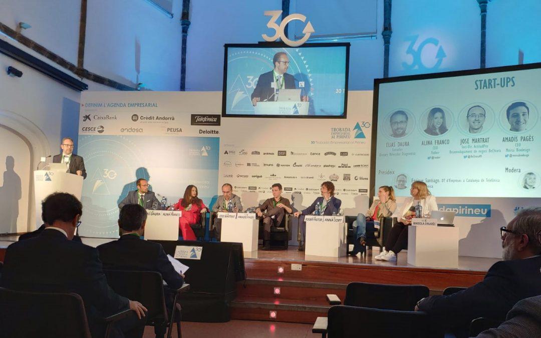 GLOBALleida un any més dóna suport a la Trobada Empresarial al Pirineu