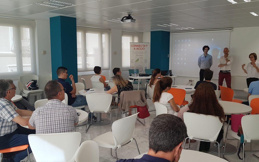II sessió formativa per a les empreses que participen en el programa Lleida StartUp de GLOBALLEIDA