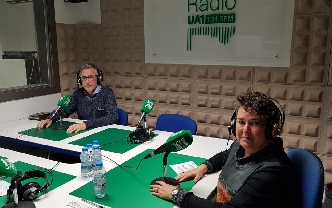 Avui a UA1 Ràdio hem parlat de la Jornada CONNECTA Lleida&Business 2019