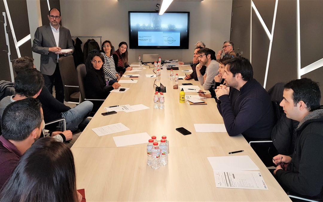 Darrera formació als participants dels programes de Creixement Empresarial de GLOBALLEIDA, T'Acompanyem i Lleida StartUp