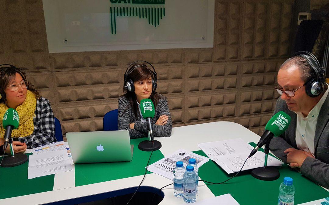 Avui a UA1 Ràdio el CEI Balaguer ha estat  protagonista