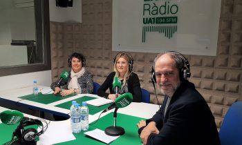 Avui a UA1 Ràdio hem fet balanç de les activitats de GLOBALLEIDA en el 2019