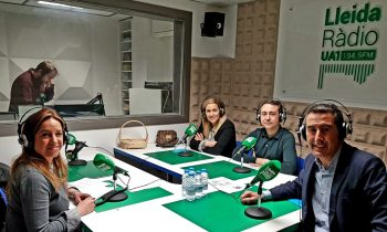 """Avui a l'espai de GLOBALLEIDA a UA1 Ràdio hem parlat del Programa """"Escola i Empresa"""""""