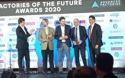 La lleidatana Digitalsonisolutions finalista en els premis Factories of the Future Awards 2020