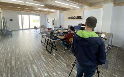 Becquel assisteix a la fira virtual d'Effie Solar i amplia la col·laboració amb Inkub per portar les plaques solars a les cases prefabricades