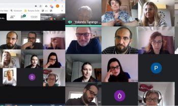 Primera formació grupal online dels programes T'acompanyem i Lleida StartUp de GLOBALLEIDA