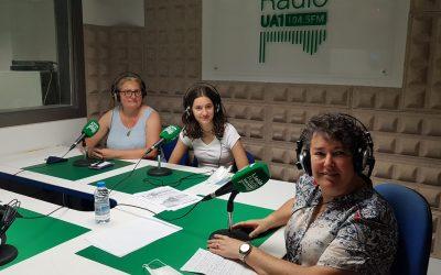 Avui algunes de les protagonistes del programa Technovation Girls a l'espai de GLOBALLEIDA UA1 Ràdio