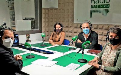 Avui a UA1 Lleida Ràdio hem parlat de la Jornada ENDAVANT per a l'Emprenedoria i el Creixement Empresarial