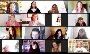 Primera formació grupal de la 5ª edició del Programa Gira Mujeres